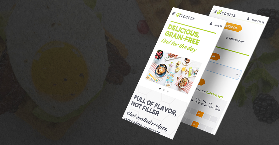 Kitchfix | eCommerce Design